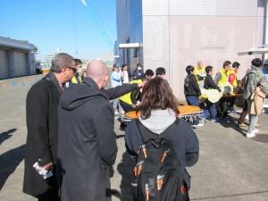 東日本学生救急救命技術選手権の様子